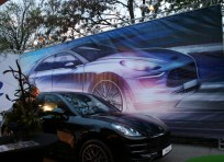 Launch Porsche Macan at the ZOO